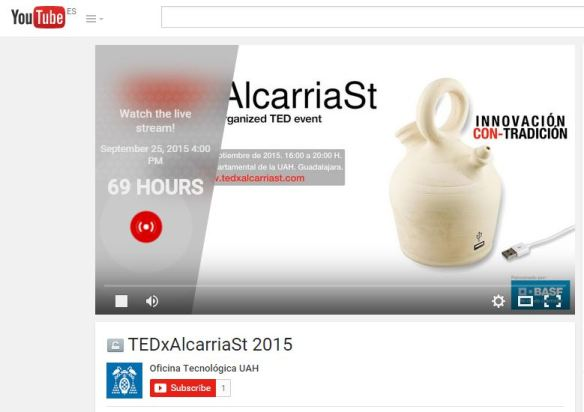 CapturaStreamingTEDxAlcarriaSt